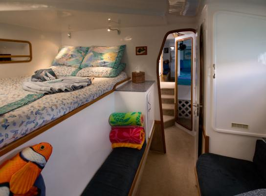 One of Breanker's guest cabins